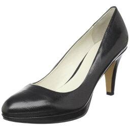 ナインウエスト ナインウエスト レディース パンプス ブラックレザー Nine West Women's Selene Basic Round-Toe Pump,Black Leather