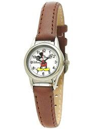 ディズニー Disney Mickey Mouse ディズニー ミッキーマウス レディース腕時計 Ladies Wristwatch Brown / White / One Size