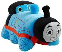 """トーマス きかんしゃトーマス ソフトトイ ぬいぐるみ My Pillow Pets Thomas The Tank Engine - Blue/Red (Licensed) 18"""""""
