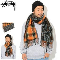 ステューシー ステューシー STUSSY マフラー メンズ Tree Bark Wool ( stussy scarf スカーフ メンズ・男性用 138667 USAモデル 正規 品 ストゥーシー スチューシー ) ice filed icefield