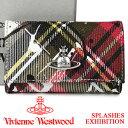 ヴィヴィアン・ウエストウッド 革キーケース メンズ ヴィヴィアンウエストウッド キーケース Vivienne Westwood ヴィヴィアン 6連キーケース レディース メンズ チェック 51020001 SPLASHES EXHIBITION 【あす楽】【送料無料】