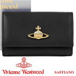 ヴィヴィアンウエストウッド キーケース ヴィヴィアンウエストウッド Vivienne Westwood キーケース ヴィヴィアン 6連キーケース ブラック 720V SAFFIANO BLACK 【02P03Dec16】