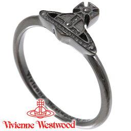 キングリング ヴィヴィアンウエストウッド リング 指輪 レディース Vivienne Westwood ヴィヴィアン オスロリング ガンメタル SR1842/4 【あす楽】【送料無料】