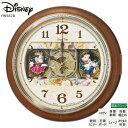 ミッキー&ミニー ディズニー Disney FW587B からくり 電波 掛 時計 ミッキー ミニー メロディ スワロフスキー Disney Time SEIKO セイコー 【37%OFF】【お取り寄せ】【送料無料】【名入れ】【Disneyzone】 【02P03Dec16】 【RCP】