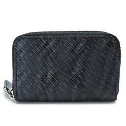 バーバリー バーバリー 小銭入れ 財布 メンズ BURBERRY コインケース ロンドンチェック PVC ブラック×チャコール 4067761 B00100/BLACK×CHARCOAL