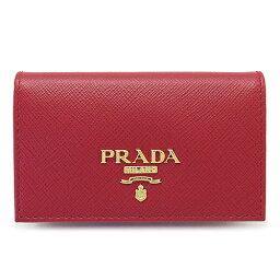 プラダ 名刺入れ プラダ カードケース PRADA 1MC122 QWA F068Z/SAFFIANO METAL FUOCO レディース 名刺入れ レザー フォーコ