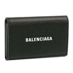 """バレンシアガ 【ファッションタイムセール】バレンシアガ/BALENCIAGA""""CASH ACCORD CARD HOLDER・キャッシュアコーデオン カードホルダー""""ロゴ入り・カードケース・名刺入れ(ブラック×ホワイト)594313 1IZ43 1090/BLACK*L WHITE"""