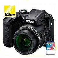 COOLPIX 今ならSDカード8GB差し上げます【送料無料】Nikon・ニコン B500BK チルト式液晶光学40倍ズームデジカメ COOLPIX B500 ブラック【楽ギフ_包装】【***特別価格***】