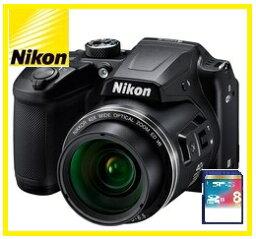 COOLPIX 【送料無料】Nikon・ニコン チルト式液晶光学40倍ズームデジカメ COOLPIX B500 ブラック【楽ギフ_包装】【***特別価格***】