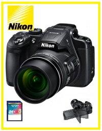 COOLPIX 【送料無料】Nikon・ニコン 光学60倍ズーム大画面バリアングル液晶モニター搭載 デジカメ COOLPIX B700 ブラック【楽ギフ_包装】【***特別価格***】