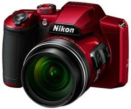 COOLPIX 【送料無料】Nikon・ニコン B600RD 光学60倍ズーム1440mmデジカメ COOLPIX B600 レッド【楽ギフ_包装】【***特別価格***】