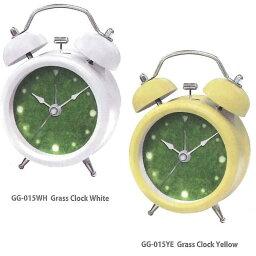 芝生 時計 誠時 GG-015 GrassClock (グラスクロック) 目覚まし時計【お取り寄せ商品】【時計/クロック/置き時計】