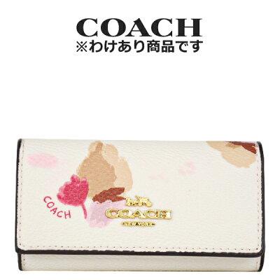 ★ コーチ COACH レディース 小物 キーケース F65522 LIF2N(チョーク×フィールドフローラル 花柄)【FKS】