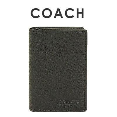 コーチ COACH メンズ 小物 カードケース 名刺入れ F86763 BLK(ブラック)