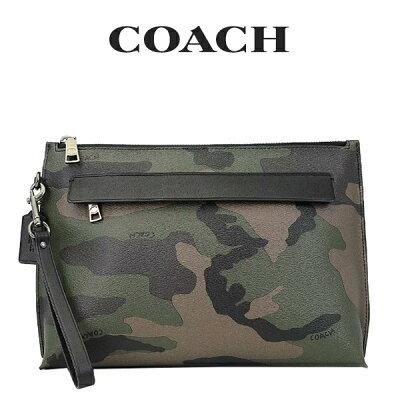 コーチ COACH メンズ セカンドバッグ F29127 DGN(ダークグリーン)