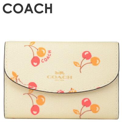 コーチ COACH レディース 小物 キーケース F31905 IMCAH(チョークマルチ)