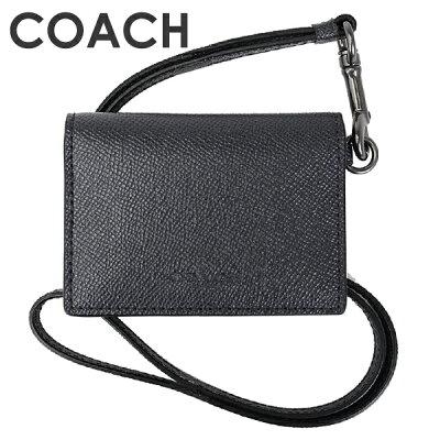 コーチ COACH メンズ 小物 カードケース F32632 QBBHP(ミッドナイトネイビー)