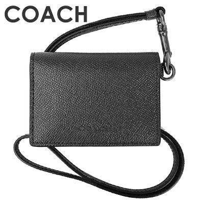 コーチ COACH メンズ 小物 カードケース F32632 QBBK(ブラック)