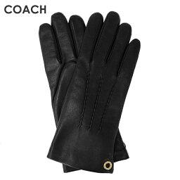 コーチ 手袋(レディース) コーチ COACH レディース 手袋 F32700 BLK(ブラック)【FKS】