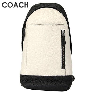 コーチ COACH メンズ バッグ ボディバッグ 23689 QBDMH(チョーク×ブラック)