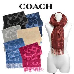 コーチ コーチ COACH レディース 小物 アパレル マフラー F76384 BLK(ブラック) / C2J(グレーバーチ) / BHP(ミッドナイトネイビー) / F8Q(レッド) / CAM(キャメル)/ COB(コバルト)/ C0X(ピンク)【FKS】