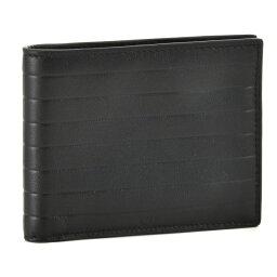 ディオール ディオールオム/DIOR HOMME 財布 メンズ カーフスキン 2つ折り財布 ブラック 2BKBH027-VEA-900【3.4RSS】