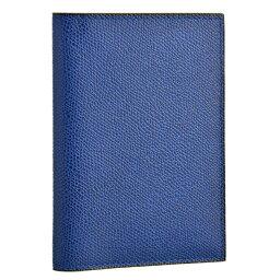 ヴァレクストラ ヴァレクストラ/VALEXTRA カードケース メンズ グレインレザー パスポートケース ROYAL BLUE V2L49-028-00RO