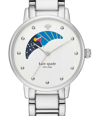 Kate Spade ケイトスペード グラマシ— ムーン パース ブレスレット ウォッチ gramercy moon phase bracelet watch 34mm 【ポイント最大43倍!お買い物マラソン セール】