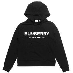 バーバリー バーバリー BURBERRY パーカー レディース 8011652 フード付 長袖パーカー BLACK ブラック