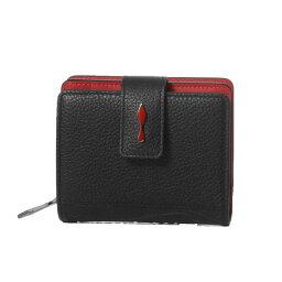 クリスチャンルブタン クリスチャン ルブタン Christian Louboutin 財布 レディース 3195015 CM53 二つ折り財布 ミニ PALOMA パロマ BLACK/BLACK ブラック