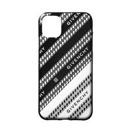 ジバンシィ スマホケース ジバンシー GIVENCHY iPhone11ケース メンズ BK604QK13V 004 BLACK/WHITE ブラック/ホワイト