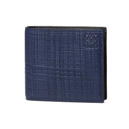 ロエベ 財布(メンズ) ロエベ LOEWE 財布 メンズ 101 88 501 1930 5110 二つ折り財布 NAVY BLUE ダークブルー