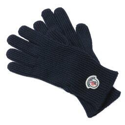 モンクレール 手袋 メンズ モンクレール MONCLER グローブ メンズ 0051800 04957 742 NAVY ダークブルー