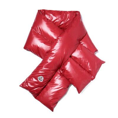 モンクレール MONCLER マフラー レディース 0010700 68950 457 RED レッド