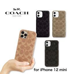 コーチ スマホケース iPhone 12 mini ケース Coach コーチ Slim Wrap Case スマホケース正規代理店