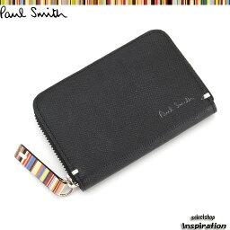 ポールスミス <クーポン配布中>ポールスミス 財布 小銭入れ コインケース 黒 Paul Smith psk860-10 ブラック メンズ 紳士