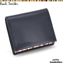 ポールスミス <クーポン配布中>ポールスミス 財布 小銭入れ コインケース 紺 Paul Smith psu050-30 メンズ 紳士