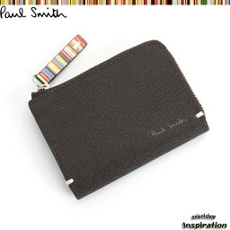 ポールスミス <クーポン配布中>ポールスミス 財布 小銭入れ コインケース パスケース付き 茶 Paul Smith psk862-71 メンズ 紳士
