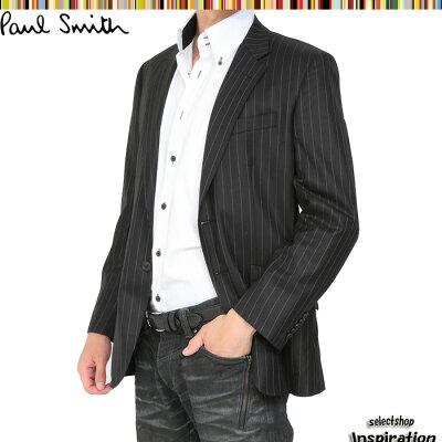 <クーポン配布中>ポールスミス ジャケット 黒系 Paul Smith plc336603-991 ブラック メンズ 紳士