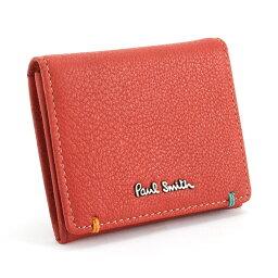 ポールスミス <クーポン配布中>ポールスミス 財布 小銭入れ コインケース レッド Paul Smith psu750-20 ブランド メンズ 紳士