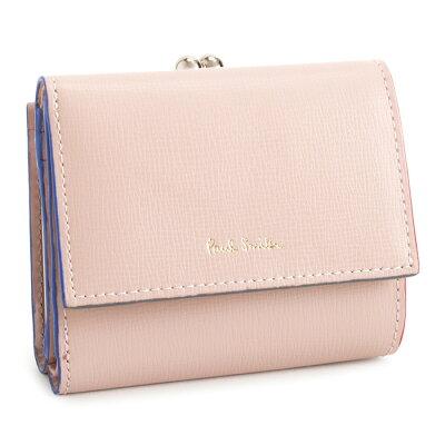ed28f59314c8 ポールスミス 財布 三つ折り財布 がま口財布 ピンク Paul Smith pwd274-24 レディース 婦人