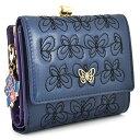 アナスイ 二つ折り財布 レディース アナスイ 財布 二つ折り財布 がま口財布 紺(ネイビー) ANNA SUI 314942-85 レディース 婦人