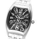 COGU 腕時計(メンズ) 【ポイント2倍】(〜7/31)コグ COGU 腕時計 JH4M BK 自動巻き ブラック シルバー メンズ