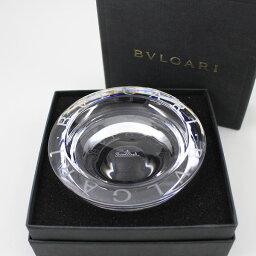ブルガリ ブルガリ×ローゼンタール ガラス製 アッシュトレイ 小型灰皿【いおき質店】美品