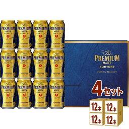 プレミアムモルツ サントリー ザ・プレミアムモルツ(プレモル) 350ml×48本 (12本×4箱)