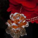 ジュエリークィーン ダイヤ ネックレス 【ポイント10倍】[スピード配]ピンクゴールド(K18PG) ダイヤモンド ネックレス(バラ/薔薇)【宝石 ジュエリー】【プレゼント】【刻印無料】*