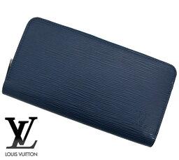 ルイヴィトン エピ財布(メンズ) LOUIS VUITTON ルイヴィトン M61873 エピ ジッピー・ウォレット 長財布 アンディゴブルー 当店人気商品【送料無料】