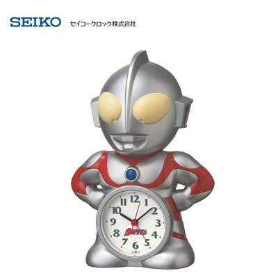 セイコー(SEIKO) キャラクター目覚まし時計 ウルトラマン JF336A 置き時計・置時計・アラームクロック ※電波時計ではありません。