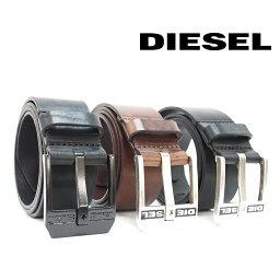 ディーゼル ベルト(メンズ) DIESEL ディーゼル ヴィンテージ加工 レザーベルト 全3色 BLUESTAR X03728 PR227 ディーゼル ベルト diesel ベルト メンズ ディーゼル ベルト メンズ