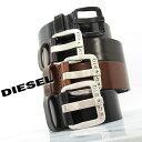 ディーゼル ベルト(レディース) DIESEL ディーゼル ヴィンテージ加工 レザーベルト 全4色 B-STAR X03721 PR227 ディーゼル ベルト diesel ベルト